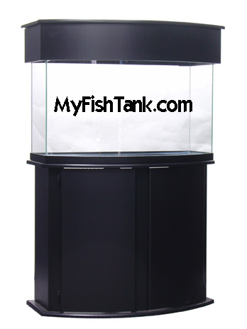 Fish Tank STAND Bowfront MDF